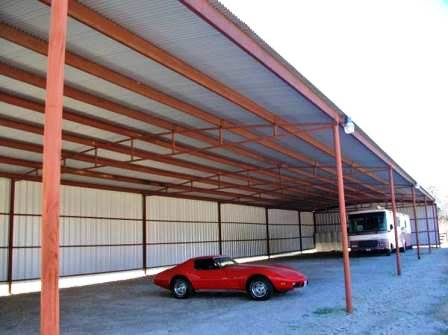 Large RV Storage Building for Sale in Texas