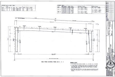 50 x 100 x 14 16 single slope steel building in texas for Building on a slope cost